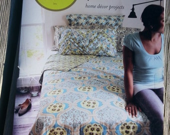 AMY BUTLER HOME Decor Projects,Feather Your Nest by Amy Butler,Quilted Coverlet Pattern,Pillow Sham Patterns,Pillow Case Patterns,Bedroom