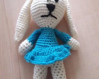plush, stuffed crochet Bunny