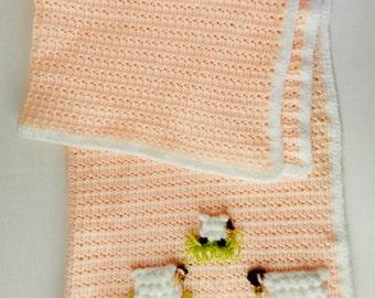 Lambie Pie Layette Crochet Pattern - PDF