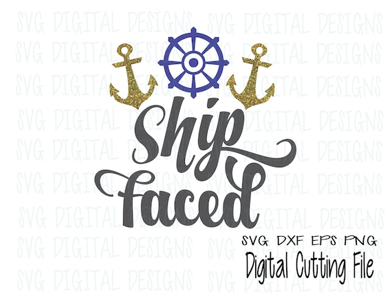 Exceptional Summer SVG File Beach Quote Ship Faced Svg Saying   Summer Svg Cut Files  Great For Silhouette U0026 Cricut Svg Dxf Eps Png, Cruise Vinyl Design From ...