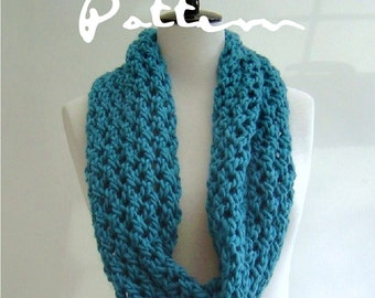Easy Infinity Scarf Knitting Pattern For Beginners
