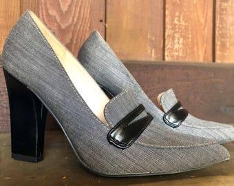 Size 5 1/2 Nine West Heels
