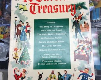 A christmas Treasury - No. 1 1954 Golden Age Comic Book Giant Dell Book