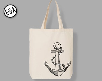 Anchor.  Reusable Market Tote.