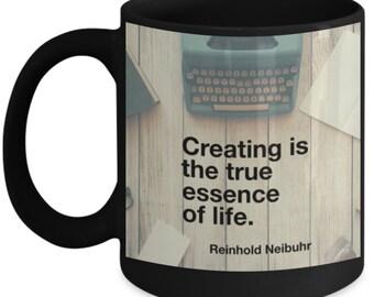 Writer, story teller, artist mug.