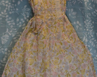 "Vintage 1930s Girls ""Lucette"" Flower Girl Dress"