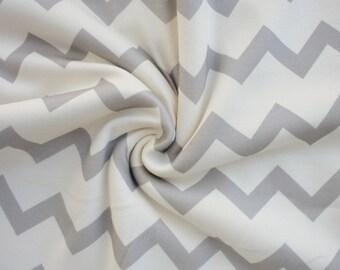 Organic Swaddle Blanket Grey Chevron - Swaddle Blanket - Organic Knit - Baby Blanket - Newborn Blanket - Grey Swaddle - Chevron Blanket