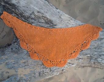 Tidepool Shawlette Knitting Pattern PDF