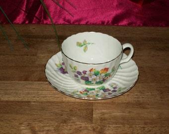 Teacup Set- Made in England by Crownford - Vintage