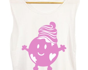 Froyo World Character T-shirt FREE shipping in USA