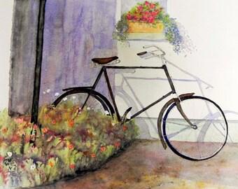 Forgotten, Irish Art, Irish Watercolour, Co Donegal.Limited Edition Print.