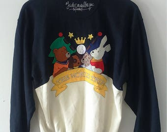 Rare Vintage Jean Charles de Castelbajac Sweatshirt Size S