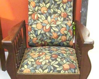 Antique Mission Arts & Crafts Morris Chair