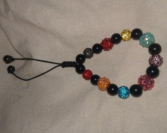 Shamballa beaded bracelet