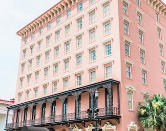 The Mills House - Downtown Charleston Print