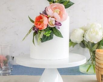 Floral Wrap Topper- Cake topper, prop cake, party decor
