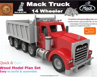 Mack Truck 14 wheeler