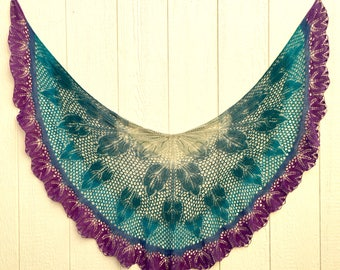 Devin Lace Shawl Pattern