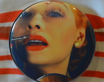 Lucille Lipstick Compact Mirror