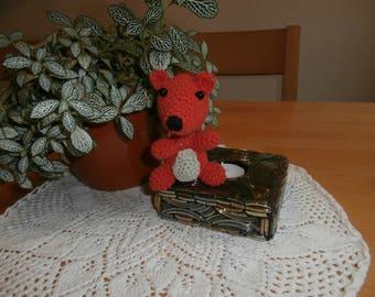 Crocheted squirrel - amigurumi