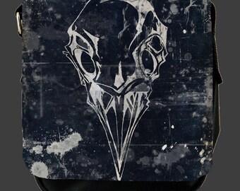 Raven skull Shoulder Bag