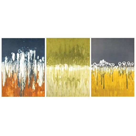 Colorful wall art series abstract wall decor modern