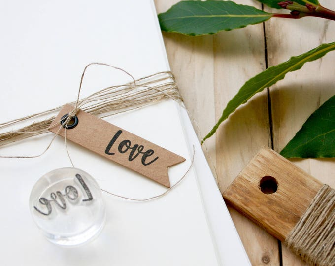 Love Rubber Stamp - Clear Stamp - Stamping - Love Stamp - Word Love - Valentines Rubber Stamp - Love - Wedding Rubber Stamp -  Stamp Store