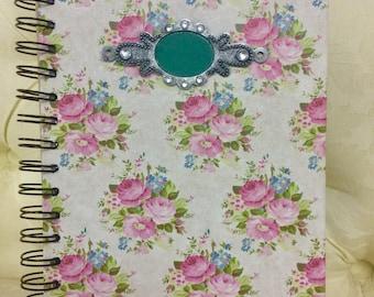 Flower patterned Journal/notebook