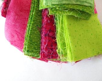 Precut Fabric Strips, 12 Ounces Assorted Widths and Lengths