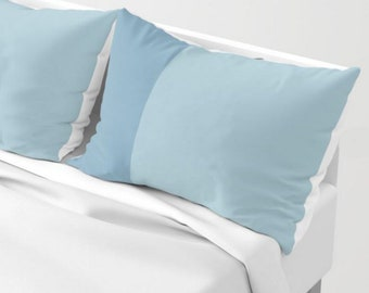 Blue Pillow Sham Covers - SET OF TWO - Enjoy Free Shipping!