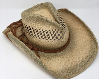 Shady Brady Raffia Hat