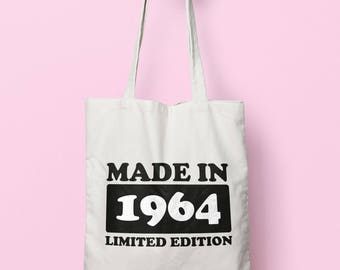 Made In 1964 Limited Edition Tote Bag Long Handles TB1727