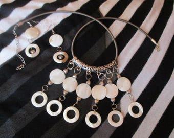 Jewelry Set: White Amira