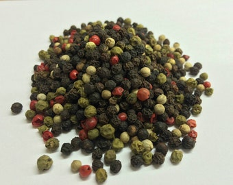 4 Peppercorn Mix, Premium Quality, UK Based, Free P&P within the UK