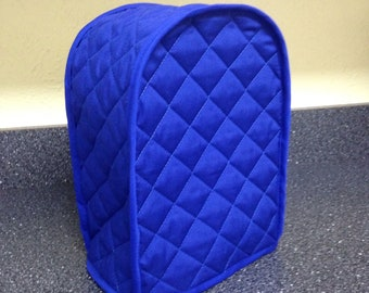 Sale! Sale! Sale! Tea Kettle Cover Royal Blue Quilted Fabric Kitchen Small Appliance Cover Southwestern Decor Ready to Ship