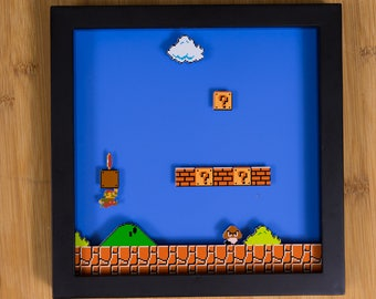 Mario - NES Shadowbox