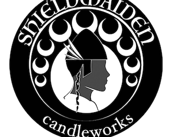 Shieldmaiden Candleworks vinyl decal