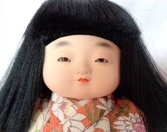Vintage Japanese ichimatsu Doll