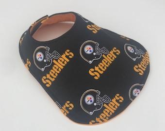 Pittsburgh Steelers Baby Bib - Baby Bib