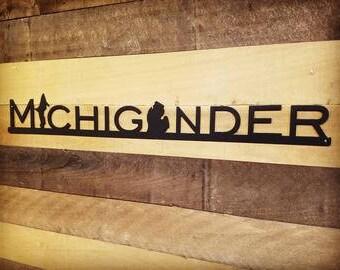 Michigander Wall Sign