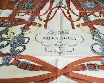 Vintage Hermes Brides De Gala silk Scarf