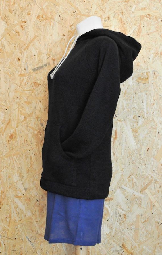 Blouse without style cruelty Eco blouse black free NEW 100 Hoodie Woman logo Hoodie Classic HEMP vegan hemp 446wRSqE
