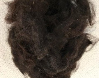 100% Raw huacaya alpaca fiber