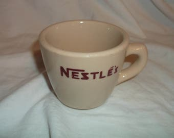 Sterling China Restaurant Ware NESTLE Coffee Cup Mug 4 oz
