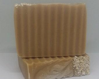 Handmade soap, Buttermilk and Oats, bar soap, vegan, natural soap, bath and body
