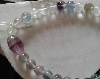 Fluorite or natural Fluorite bracelet