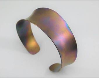 Titanium Anti-Clastic Cuff Bracelet