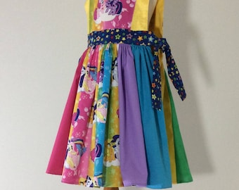 My Little Pony Pinafore Dress GIRL'S SIZE 3/4 READY to be shipped
