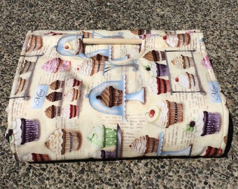 Insulated Casserole Carrier Cupcake Bakery, Personalization Available