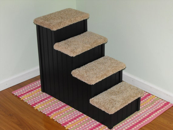 These 6 Pieces Of Colorful Furniture Are Absolute Must Haves: Pet Steps For Dogs 24 High Dog Stair Handmade In USA